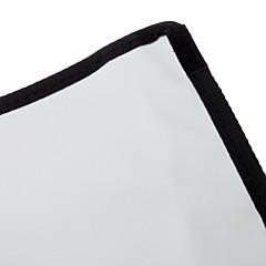 NEWYI K-B23 Folding Box ανακλαστήρα ύφασμα για φλας-(Μαύρο + Ασημένιο)