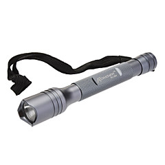 Romisen RC-2B4 monomodo Cree XR-E Q5 LED Flashlight (200LM, 2xAAA, Gray)