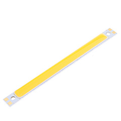 ZDM ™ 10w cob 900lm 3000k warm wit licht strip (dc 12-14v)