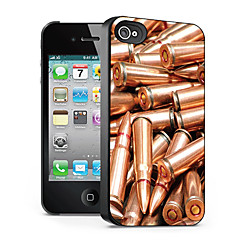 Bullet Pattern 3D Effect Case for iPhone4/4S