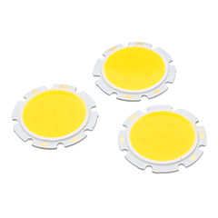 3W 3000K Warm Light Round COB Super Bright LED SMD Chip
