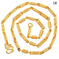 Biżuteria Łańcuszki na szyję Codzienny Stop Męskie Złoty Prezenty ślubne