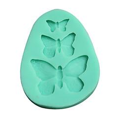 3D formy silikonowe formy w kształcie motyla (losowy kolor)