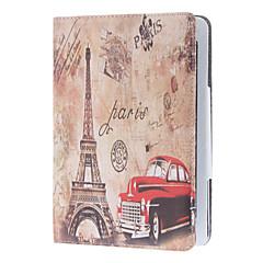 retrostil bil och Eiffeltornet fallet för ipad mini 3, iPad Mini 2, iPad Mini