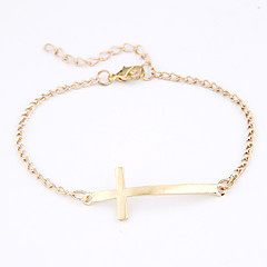 Simple Cross Bracelet(Assorted Colors)