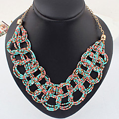 European Style Bohemia Beads Resin Necklace(Assorted Color)