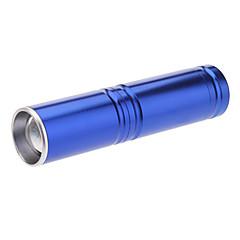 3-Mode Cree XP-E Q5 LED Zoom taskulamppu (240LM, 1xAA, Sininen)