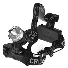 Outdoor Waterproof 1600LM CREE XM-L T6 LED Headlamp(2*18650)