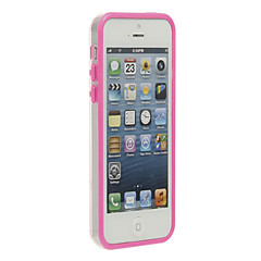 Stilfuld Light Bumper Ramme til iPhone 5C (assorterede farver)