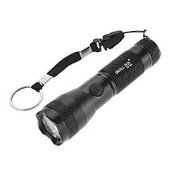 Kleine Sun ZY-560-Modus Wasserdichte LED-Taschenlampe (100ml, 1xAA, Schwarz)