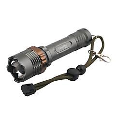 LED Flashlights / Handheld Flashlights 5 Mode 240 Lumens 18650 Adjustable Focus LED Cree XR-E Q5Camping/Hiking/Caving / Everyday Use /
