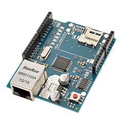 (For arduino) ethernet skjold med wiznet W5100 ethernet chip / TF Slot