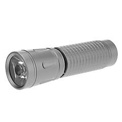 LED Flashlights / Handheld Flashlights LED 1 Mode Lumens AAA Everyday Use / Traveling / Working - MXDL , Grey Aluminum alloy