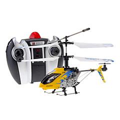 Hélicoptère DFD F106 4CH RC avec Gyro & Light (Jaune)