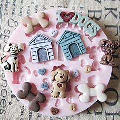 bageform 3D tegneserie Til Kage Til Cookies Til Tærte Silikone Miljøvenlig Høj kvalitet Bryllup