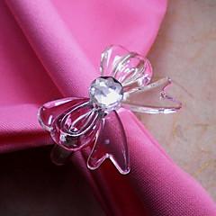 Bow csomós szalvétagyűrű, akril