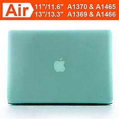"""11.6 """"13.3""""애플 맥북 에어 (분류 된 색깔)를위한 enkay 둔한 광택 하드 케이스 쉘"""