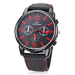 Men's Watch Dress Watch Casual Watch Silicone Strap Wrist Watch Cool Watch Unique Watch Fashion Watch