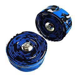 1 para ostre koło Droga Rower / rower niebieski + czarny pasek na kierownicę