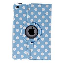runda prickar mönster blå fodral för ipad mini 3, iPad Mini 2, iPad Mini