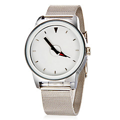 Women's Simple Round Dial Alloy Mesh Band Quartz Analog Wrist Watch (Assorted Color) Cool Watches Unique Watches