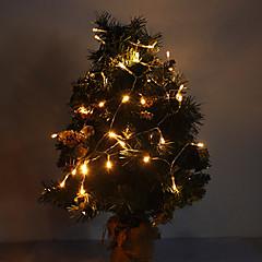 4M 3W 40-LED 210LM Warm White Light LED Strip Light for Christmas Decorations