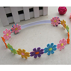 Girl's Colorful Flower Headband
