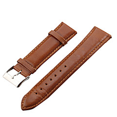 Unisex 22mm Leather Watch Band (Assorted Colors) Cool Watch Unique Watch Fashion Watch