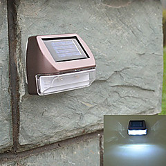 Luz Blanca Luz Solar LED Mini rectángulo Solar Light Deck