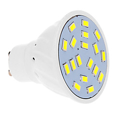 7W GU10 Focos LED 18 SMD 5630 570 lm Blanco Fresco AC 100-240 V