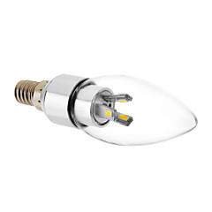 E14 6x5730SMD 3000K Warm lampadina bianca LED candela (220V)
