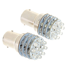 Ba15s/1156 36-LED 100-200LM 6000K Cool White Light LED Bulb for Car (12V,2 pcs)