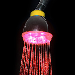 3-Color Temperature Sensitive ABS LED Color Changing Hand Shower