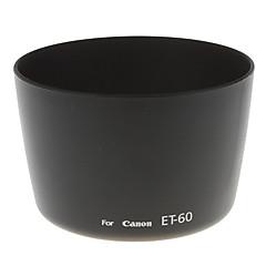 カメラ用のET-60ユニバーサルレンズフード(ブラック)