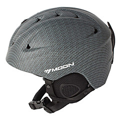 MOON Unsiex Gray Fall/Winter ABS Ski/Snowboard Helmet