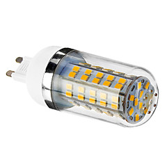 6W G9 LED-kolbepærer T 80 SMD 2835 450-490 lm Varm hvid AC 85-265 V