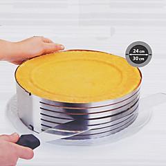 flexibel rund bakform, metall diameter 26-30cm höjd 9cm