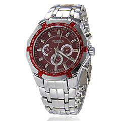 CURREN®Men's Sporty Round Dial Alloy Band Quartz Analog Wrist Watch (Assorted Colors) Cool Watch Unique Watch Fashion Watch