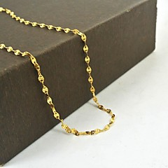 Fashion Gold Stainless Steel Chain Necklace