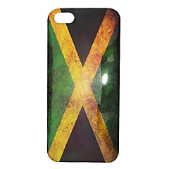 Vintage Style Jamaica Flag Pattern ABS Back Case for iPhone 5/5S