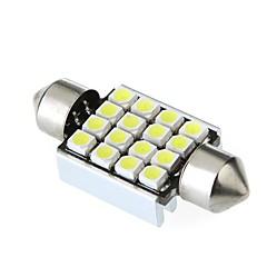 36mm 16 1210 SMD LED Canbus Intérieur dôme de voiture blanche de feston ampoule de lampe