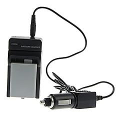 ismartdigi 1080mAh camera batterij + Car Charger voor Canon EOS 450D 500D 1000D 2000D Kiss X2 X3