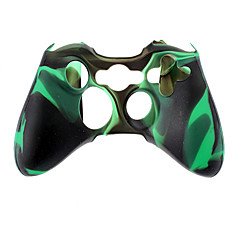 Custodia in silicone controller wireless per Xbox 360 (verde)