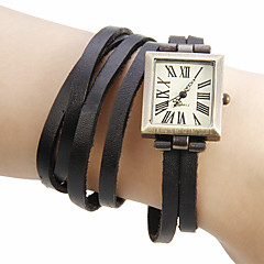 Dames Modieus horloge Polshorloge Armbandhorloge Kwarts Band Bohémien Zwart Groen Kaki Merk