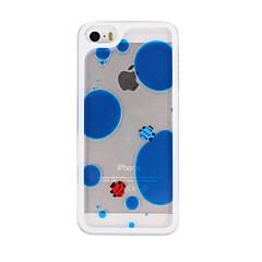 Caso duro Fish Liquid Design PC para el iPhone 5/5S