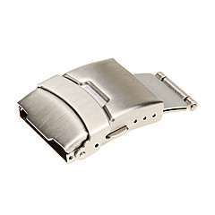 Unisex 22mm Stainless Steel Watch Buckle