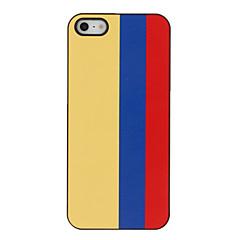 Top 32 World Cup Series Bandeira da Colômbia Padrão Hard Case para iPhone 5/5S