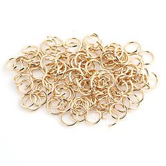 Durabil Runda Rose Gold aliaj Încuietoare cu lanț 100 buc / sac