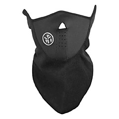 Outdoor Cycling Black Fleece Thermal Mask