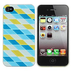 Water Cube Painting Pattern PC Hard Case for iPhone 4/4S